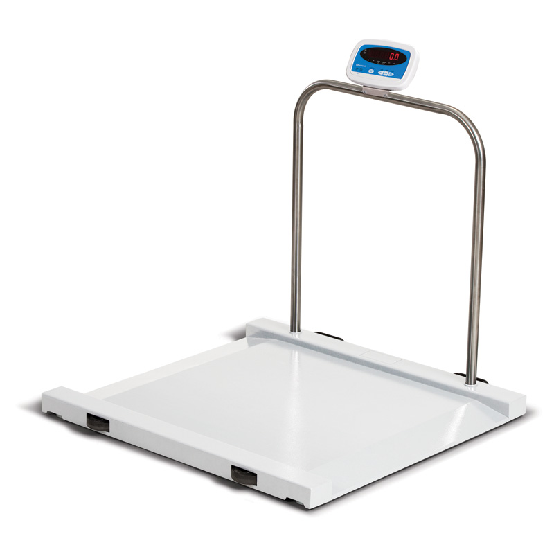 Wheel Chair Scale brecknell ms-1000 medical scale 1000 pound capacity