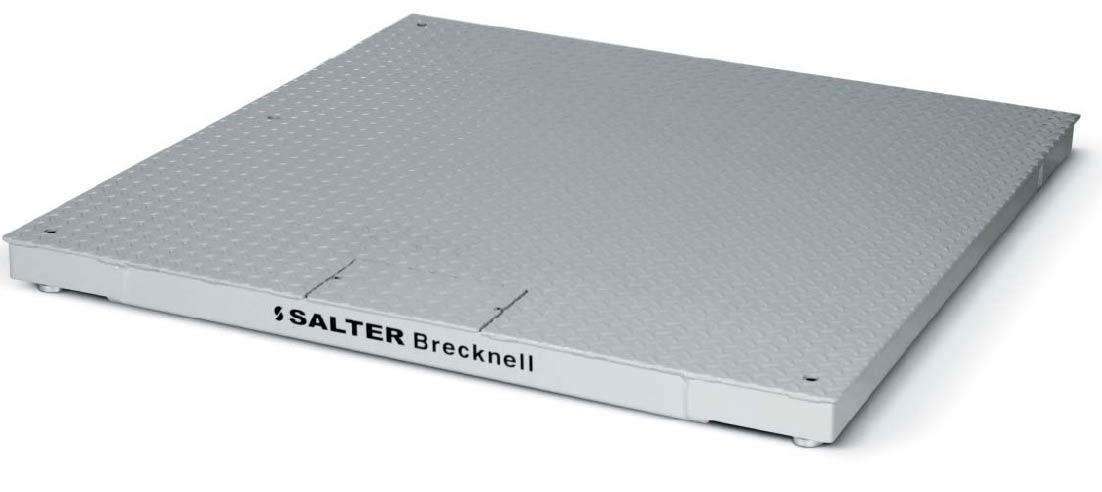 Salter Brecknell 4x4 10K Pegasus DCSB Floor Scale